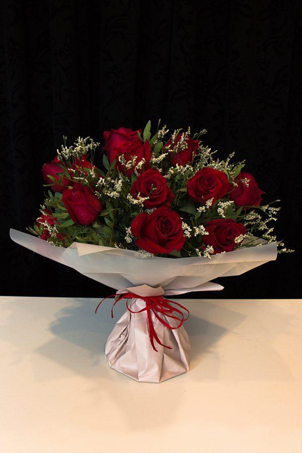 róża czerwona duży