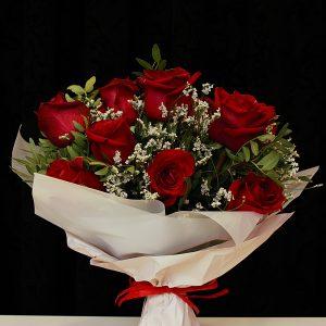 róże czerwony mały